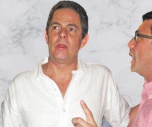 Germán Vargas Lleras (izquierda) y Carlos Caicedo (derecha).