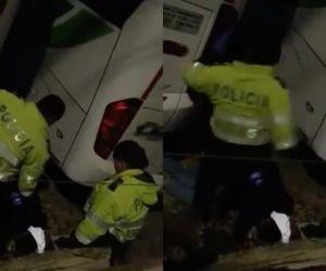 Agresión policial.