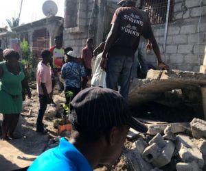 El sismo, que hizo temblar las casas y obligó a la población a buscar protección.