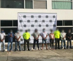 Siete personas fueron capturadas y presentadas ante jueces de control de garantías.