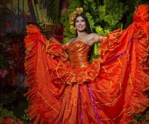 Valeria Alexandra Charris Salcedo, reina del Carnaval 2022