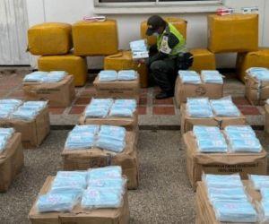 La acción aduanera se llevó a cabo en el punto de control ubicado en el municipio de Ariguaní.