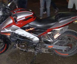 Esta fue la moto involucrada en el accidente.