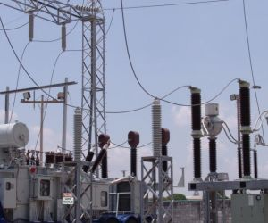 Subestación eléctrica.
