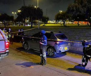El intento de fleteo ocurrió en Bogotá.