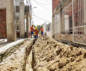 Obras adelantadas en Ciudadela 29 de Julio.