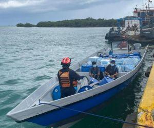 Operativo en San Andrés.