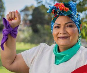 Victoria Sandino, congresista de Los Comunes.