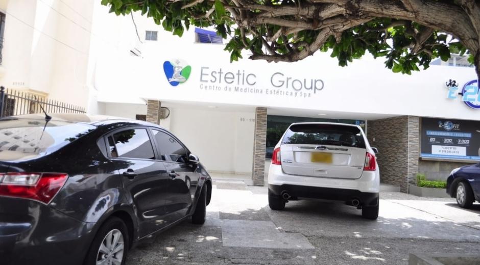 Fachada de 'Estetic Group'.