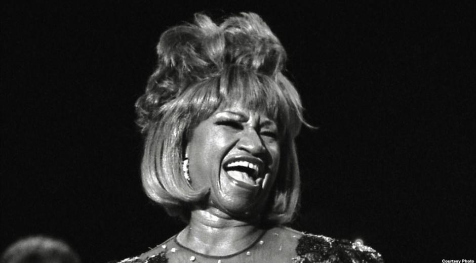 Celia Cruz, fallecida cantante cubana.
