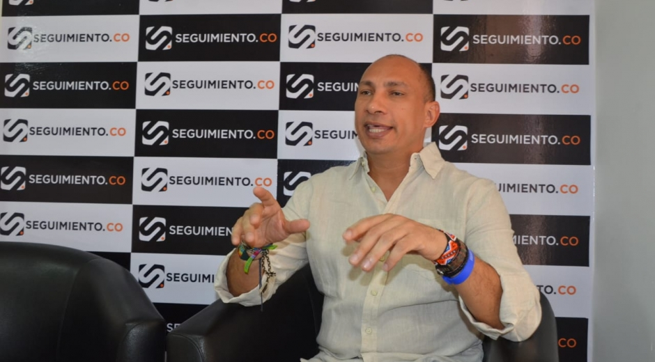 El coordinador de la ARN en el Magdalena, José Nicolás Wild
