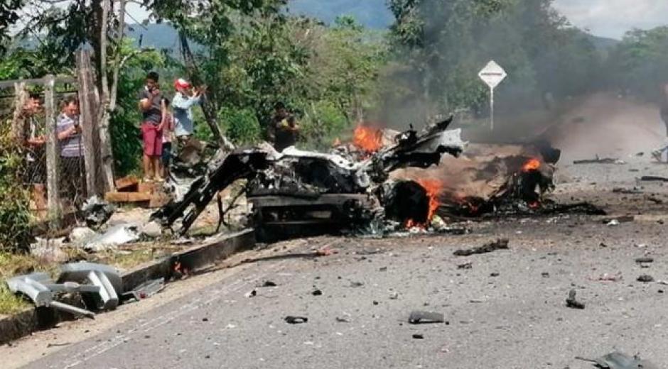 Ataque terrorista en Cubará, Boyacá
