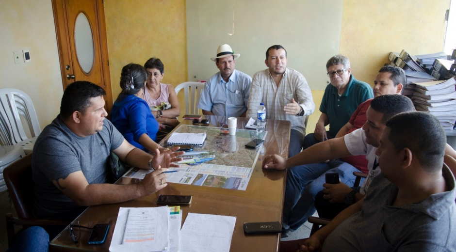 Reunión entre gremio transportador de Santa Marta
