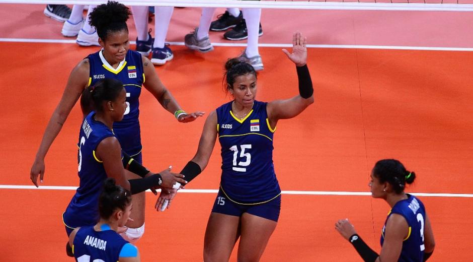 Voleibol femenino de Colombia.