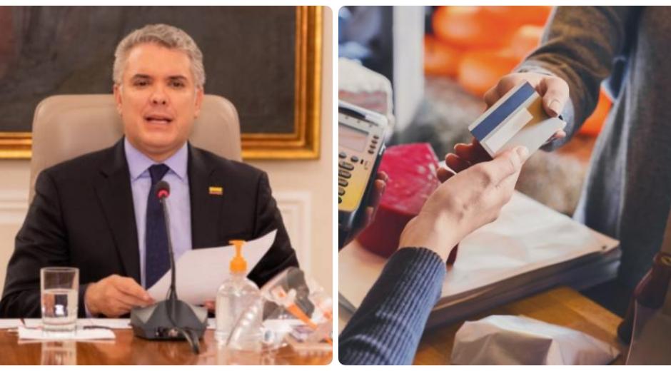 Nuevos anuncios del presidente Iván Duque durante la emergencia del COVID-19.