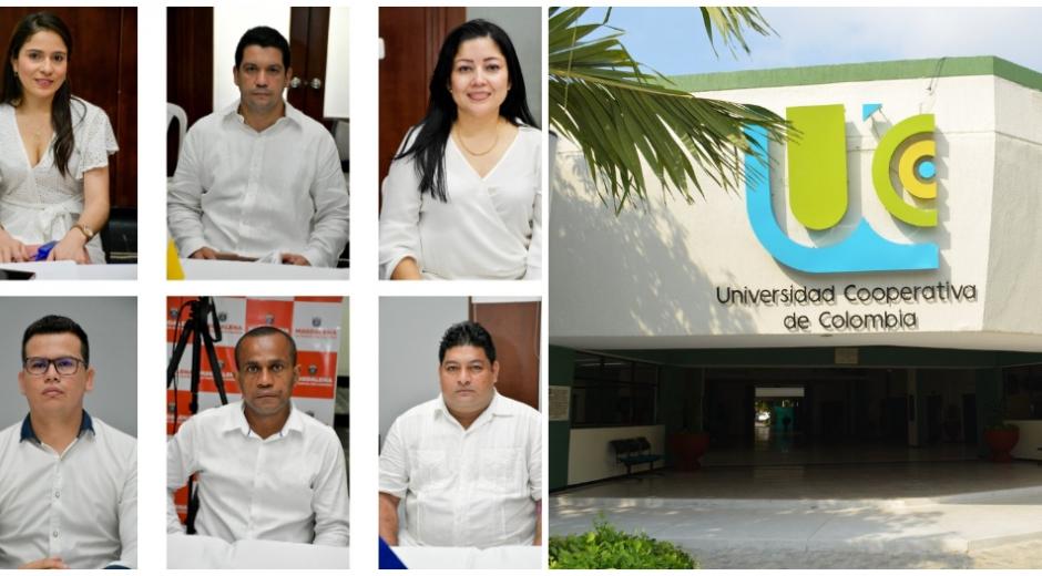 Seis gerentes de hospitales del Magdalena son egresados de la UCC Santa Marta.