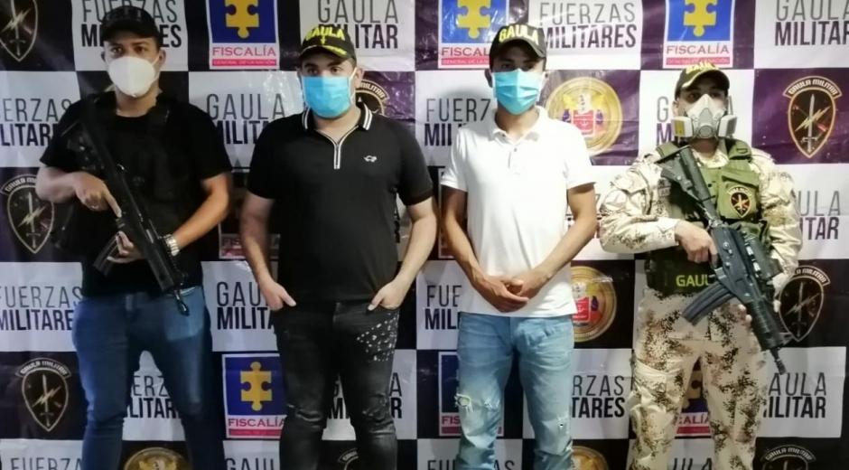 Luis Amador Pérez Vásquez y Sergio Mario Carrillo Padilla.
