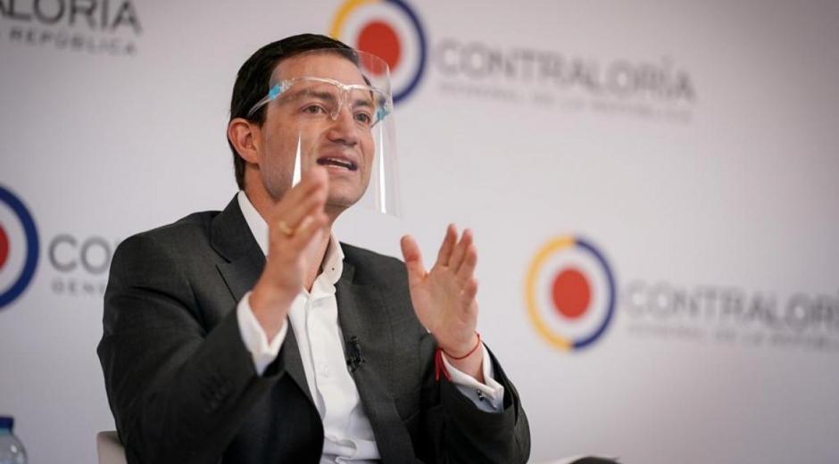 Carlos Felipe Córdoba, contralor general de la República.