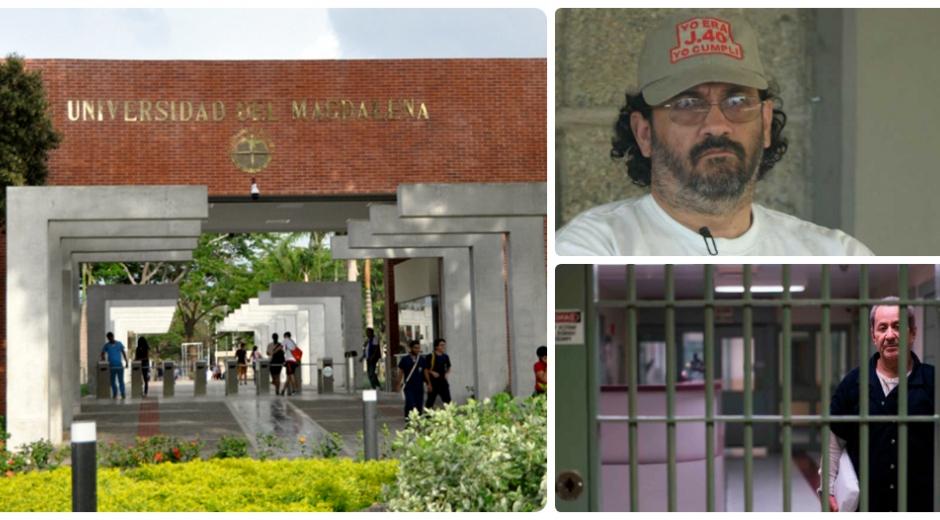 Piden testimonio de Jorge 40 y Hernán Giraldo sobre los homicidios de la Unimagdalena.