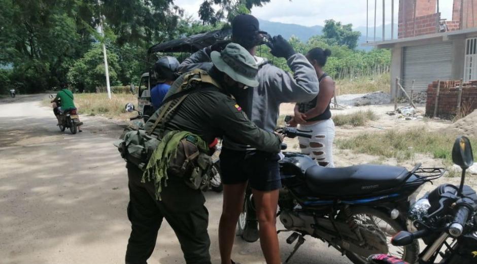 Operativos de la Policía del Magdalena.