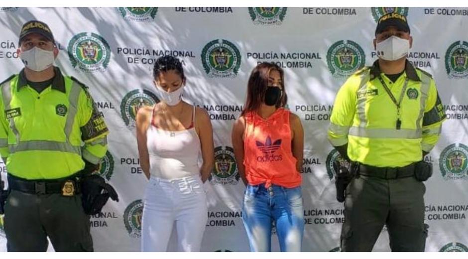 Rosmarly del Carmen Urdaneta Rodríguez y Dailyn Dayana Bastida Jiménez.
