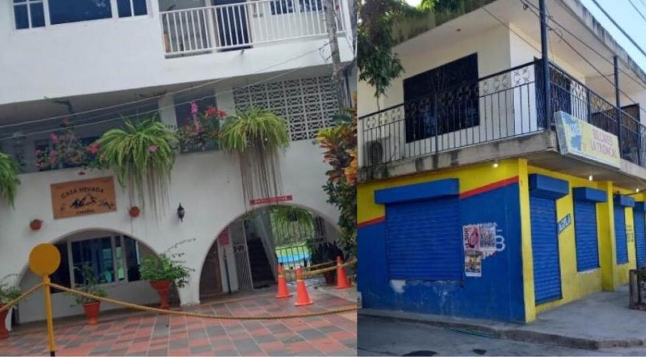 En un hotel y en un billar de Santa Marta se detectaron las conexiones ilegales.