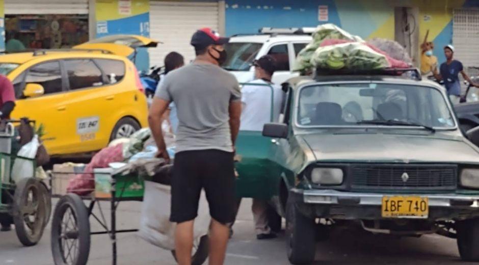 Buena parte del desempleo en Santa Marta se refleja en la alta informalidad.