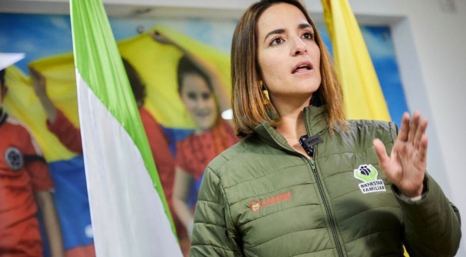 Directora del ICBF, Lina Arbeláez.