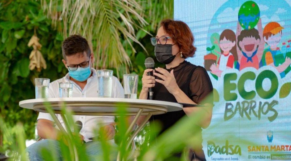 Directora del Dadsa, Patricia Caicedo.