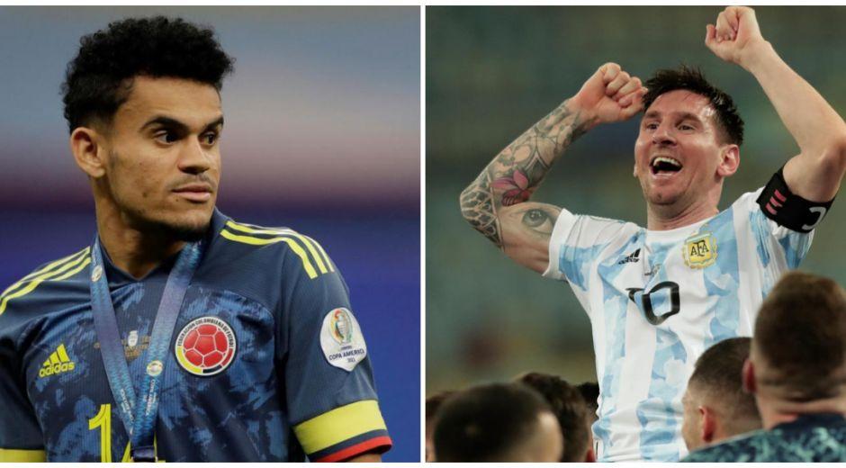 Luis Díaz y Lionel Messi obtuvieron botín de oro.