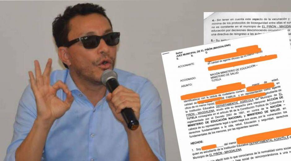 Carlos Caicedo, gobernador del Magdalena, estaría detrás de las tutelatones.