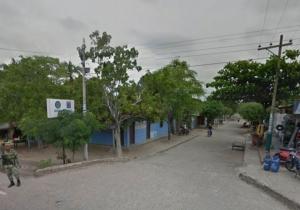 Acceso a la urgencia desde la carretera de Nueva Granada, Magdalena.