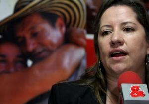 Paula Gaviria Betancourt, directora de la Unidad para las Víctimas.