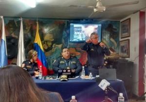 Rueda de prensa del Cuerpo de Bomberos de Santa Marta realizada este miércoles.