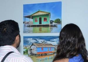 Las fotografías son exhibidas en el Claustro San Juan Nepomuceno de la Universidad del Magdalena.