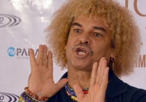 Carlos 'El Pibe' Valderrama, jugador samario.