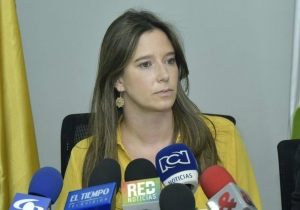 La directora del Icbf, Cristina Plazas