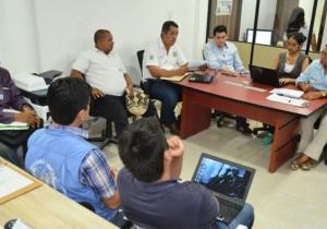 Aspecto de la reunión desarrollada en las instalaciones de Intraciénaga.