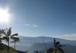 Aspecto de la cuchilla de San Lorenzo en la Sierra Nevada de Santa Marta.