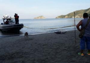 A primera hora fue hallado el cadáver del joven de 17 años en la playa de El Rodadero.
