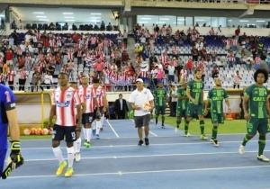 Imagen que recuerda el juego de Chapecoense con Junior en Barranquilla.