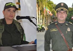 Sandra Vallejos (izq) y John Jairo Rodríguez (der) fueron ratificados en sus cargos.