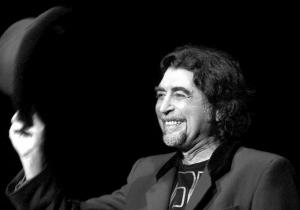Joaquín Sabina, cantautor español.