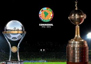 Copa Sudamericana y Copa Libertadores.