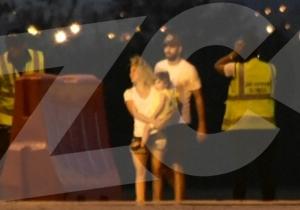 Piqué y Shakira llegaron a Barranquilla a las 5:40 p.m.