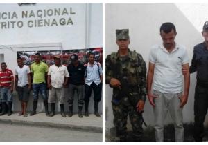 Estas fueron las personas capturadas en Nueva Granada y la Zona Bananera.