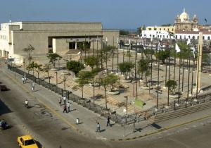 Aspecto del Centro de Convenciones de Cartagena