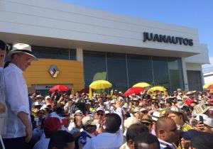 El expresidente envió un mensaje a la comunidad internacional desde Cartagena.