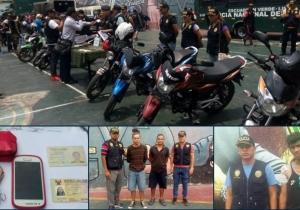 Los detenidos fueron puestos a disposición de la Policía de Migración y Extranjería.
