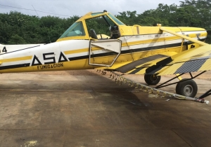 Esta es la avioneta desaparecida desde el sábado, iba solo con el piloto.